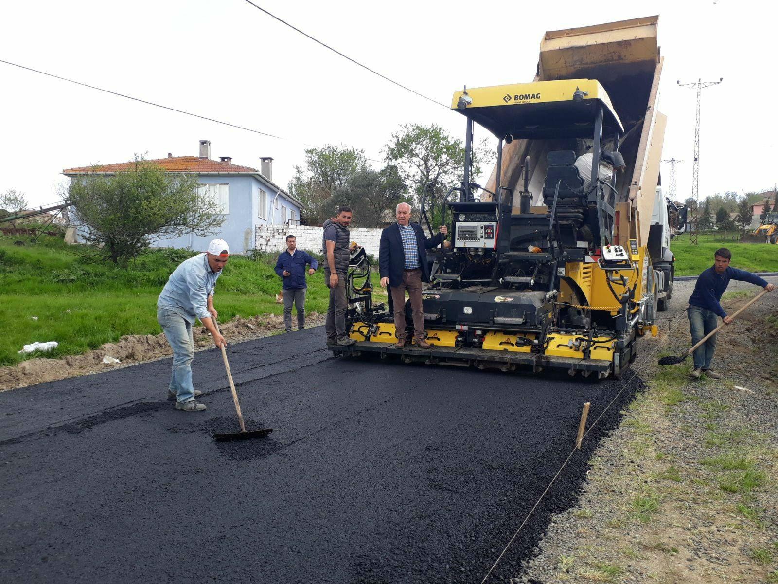 Marmaraereğlisi'nde asfaltsız yol kalmayacak