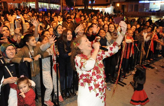 Sultanköy'de Cumhuriyet coşkusu