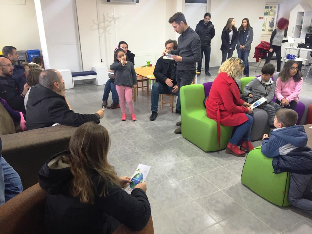 Süleymanpaşa Çocuk Kulübü AHBAP ile çocuklara haklarını anlattı