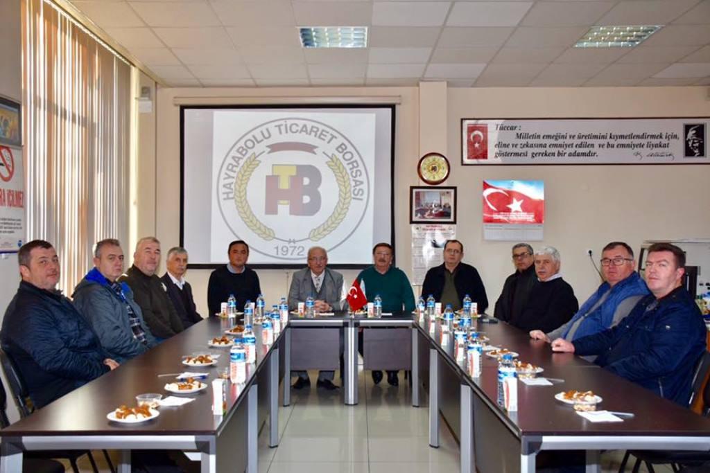 Başkan Albayrak Hayrabolu'da STK'larla Bir Araya Geldi