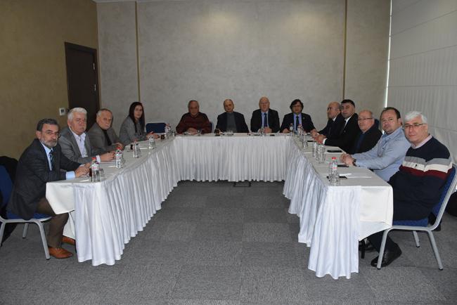 Marmara Gazeteciler Federasyonu Edirne'de BirAraya Geldi