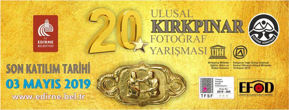 ULUSAL KIRKPINAR FOTOĞRAF YARIŞMASI 20. YILINDA