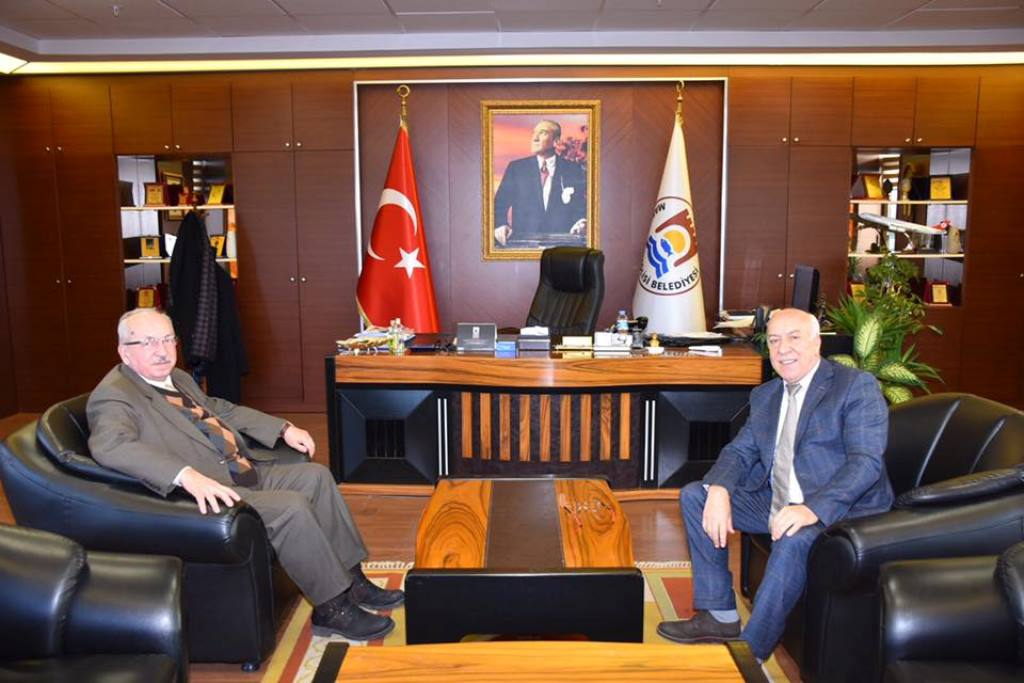 Başkan Albayrak'tan İbrahim Uyan'a Ziyaret