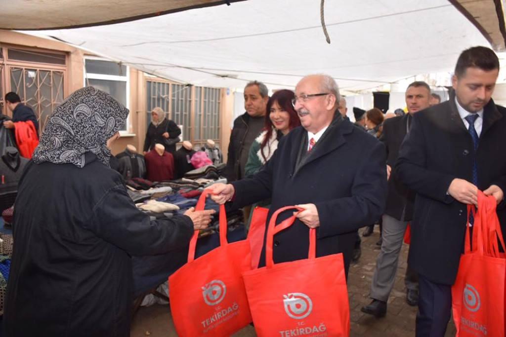 Tekirdağ Büyükşehir Belediyesi'nin Çevre Temizliğine Katkısı Devam Ediyor