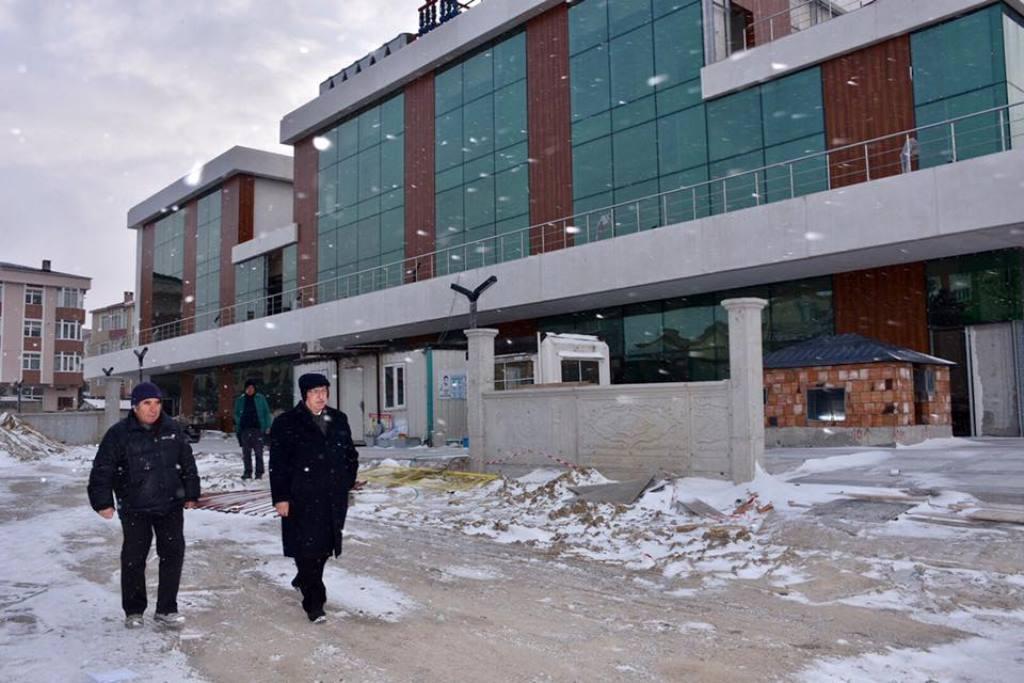 Başkan Kadir Albayrak Çerkezköy ve Kapaklı İlçelerindeki Yatırımları İnceledi