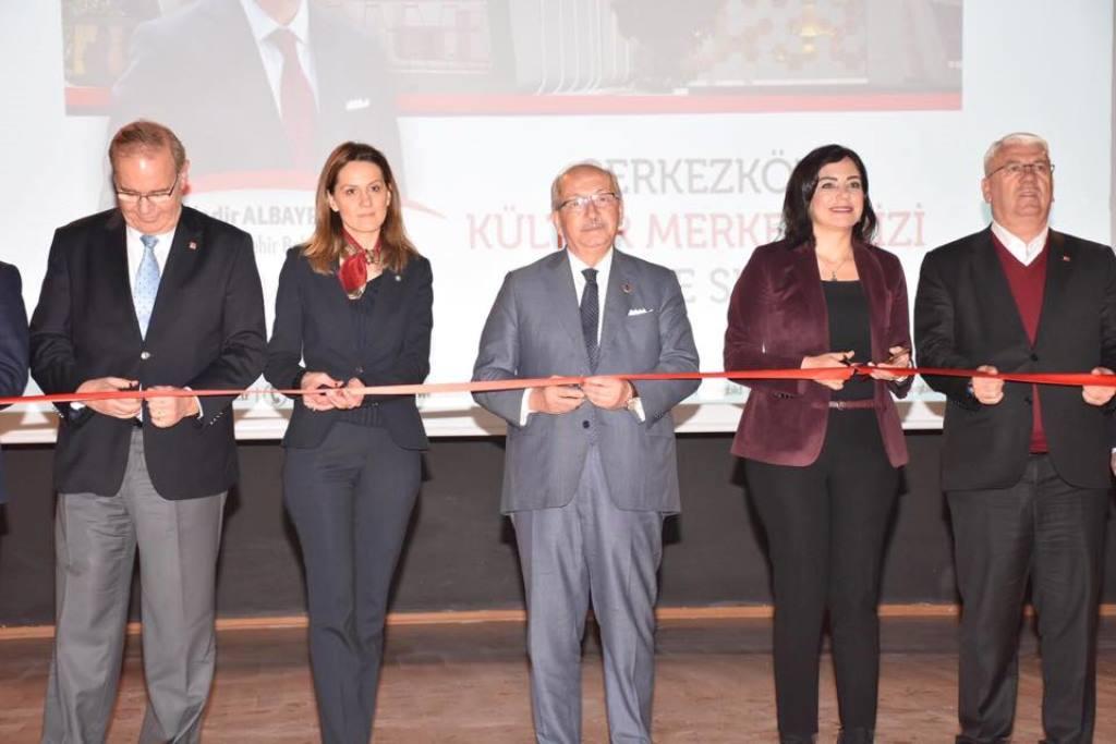 Çerkezköy Atatürk Kültür Merkezi Açılışı Gerçekleştirildi
