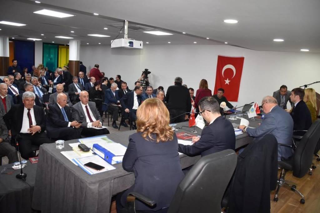 Büyükşehir Belediyesi'nin Kurucu Meclisi Son Kez Toplandı