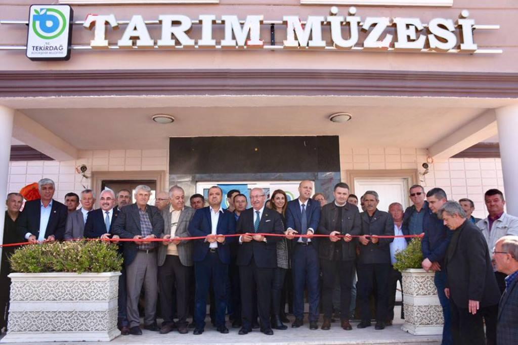 Hayrabolu Şalgamlı Tarım Müzesi'nin Açılışı Gerçekleştirildi