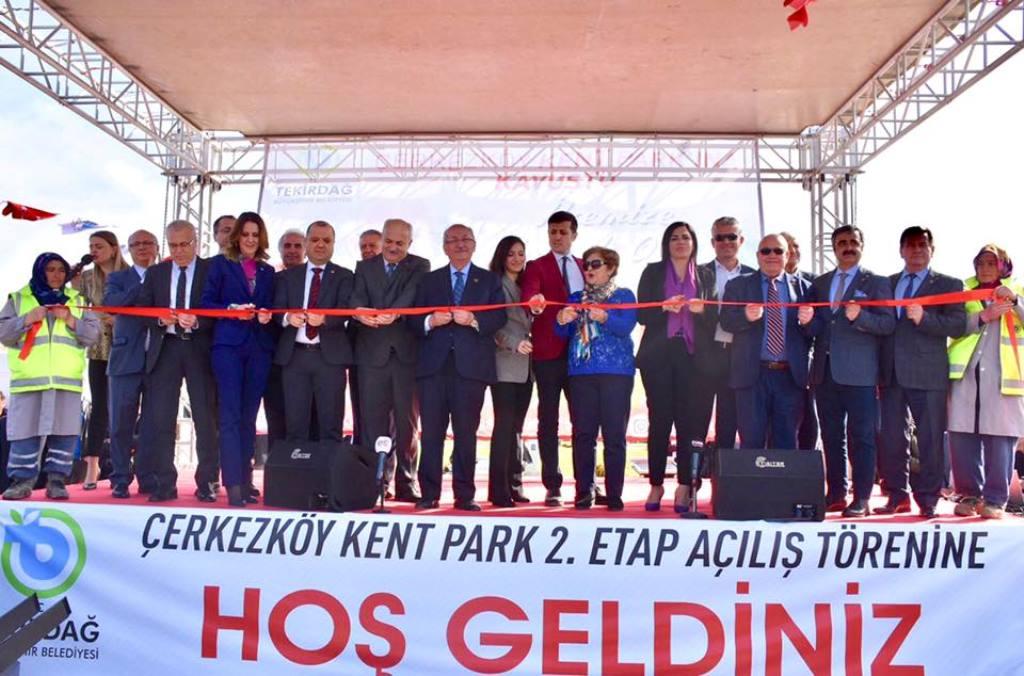 Çerkezköy Kent Park 2. Etabı Açılış Töreni Gerçekleşti