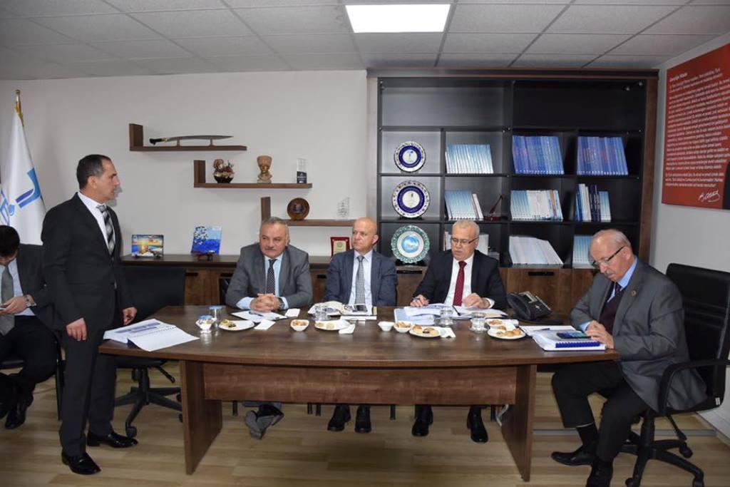 Başkan Albayrak Brifing Toplantılarına Katıldı