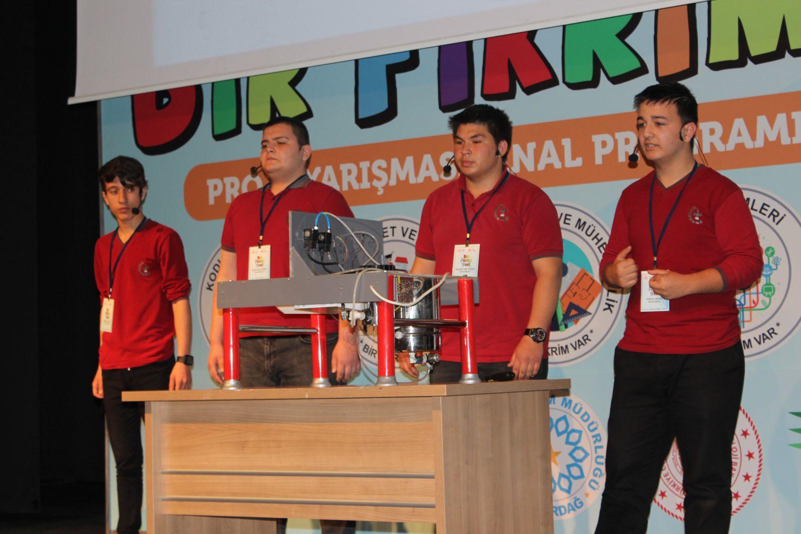 Bir Fikrim Var Yarışması'nın Kırklareli ve Tekirdağ Finalleri Yapıldı