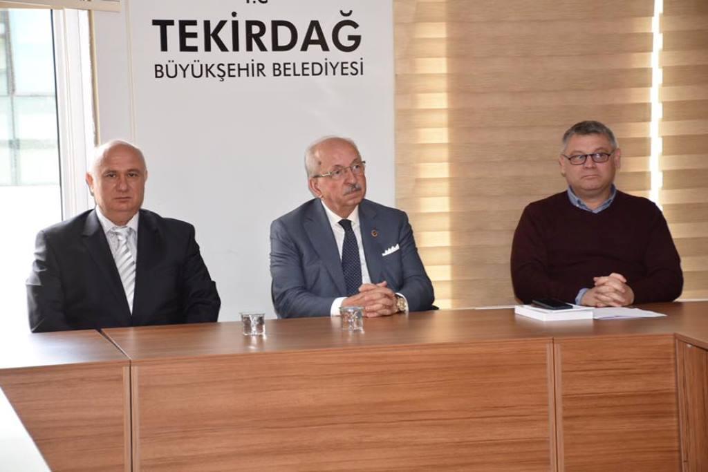 Tekirdağ Büyükşehir Belediyesi'nden Türkiye Bina Deprem Yönetmenliği Eğitimi