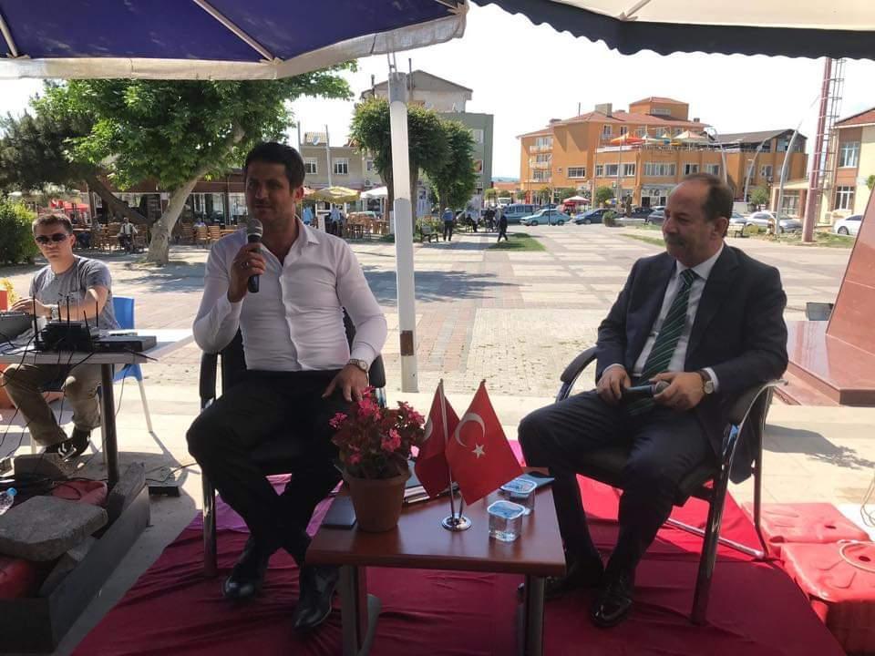 Gürkan, memleketi İpsala' da deneyimlerini paylaştı