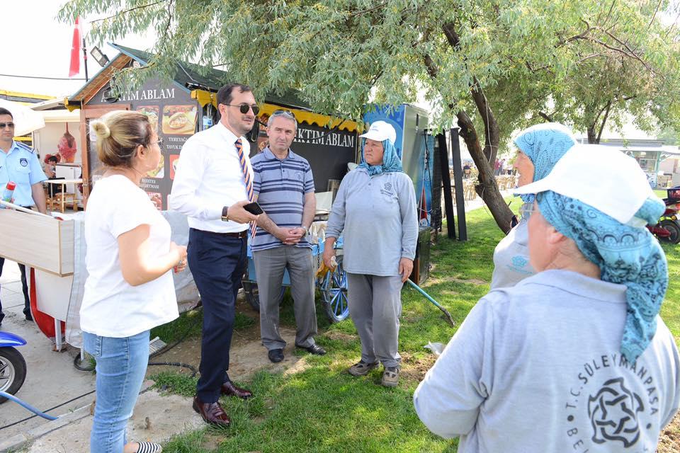 """Cüneyt Yüksel: """"Festivalde 1.2 milyon lira belediyemizin kasasında kalacak"""""""