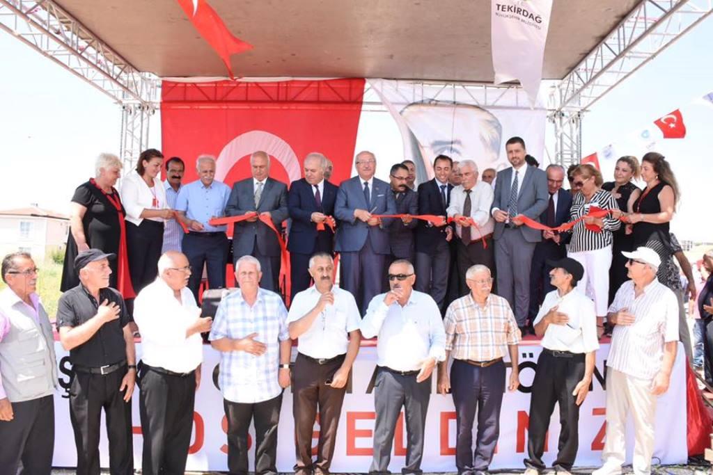 Şarköy Cemevi'nin Açılışı Gerçekleştirildi
