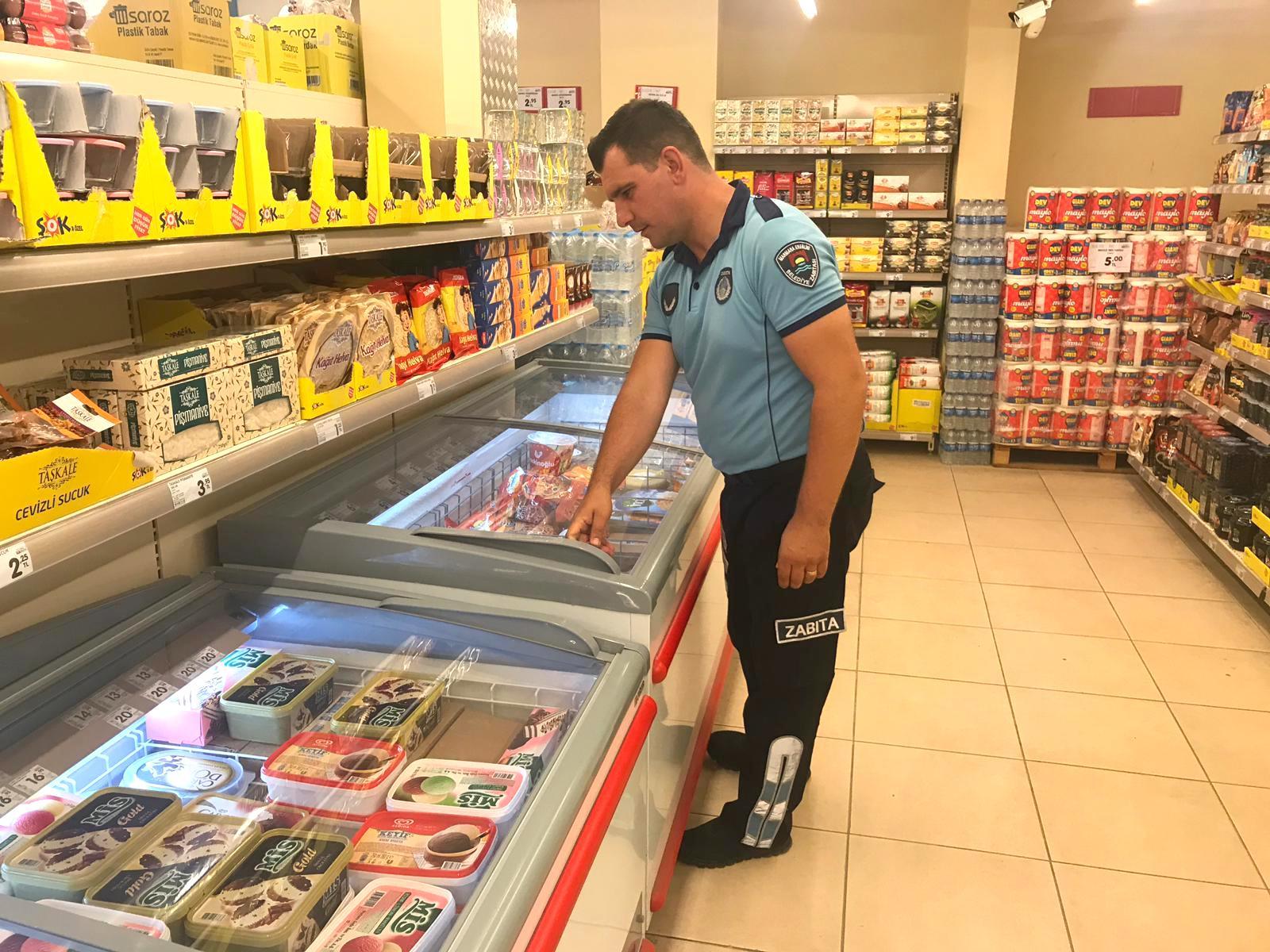 Marmaraereğlisi Belediyesi Zabıta Müdürlüğü Ekipleri Marketleri Denetledi