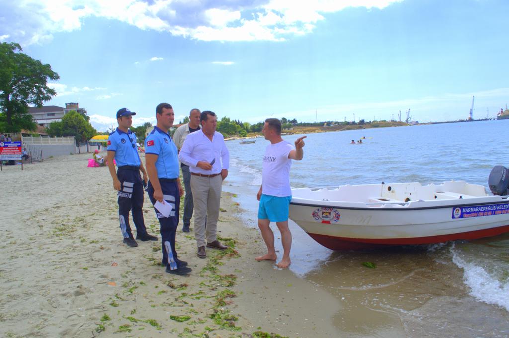 Marmaraereğlisi Plajları Artık Daha Güvenli Olacak