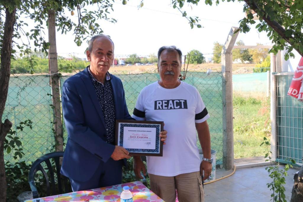 Başkan Ata'dan Kamaradere Güzelleştirme Derneğine Ziyaret