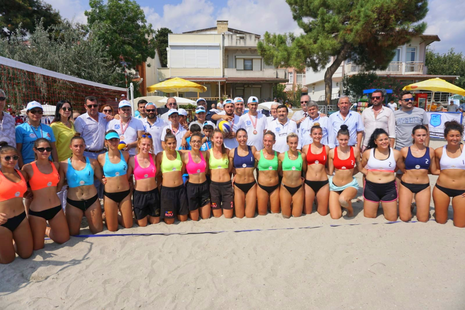 Marmaraereğlisi Plaj Voleybolu Halk Turnuvası Başladı