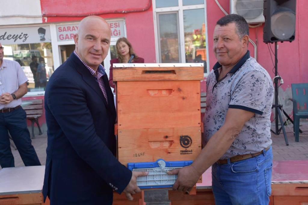 Büyükşehir Belediyesinin Arıcılık ve Polinasyon Projesi Devam Ediyor