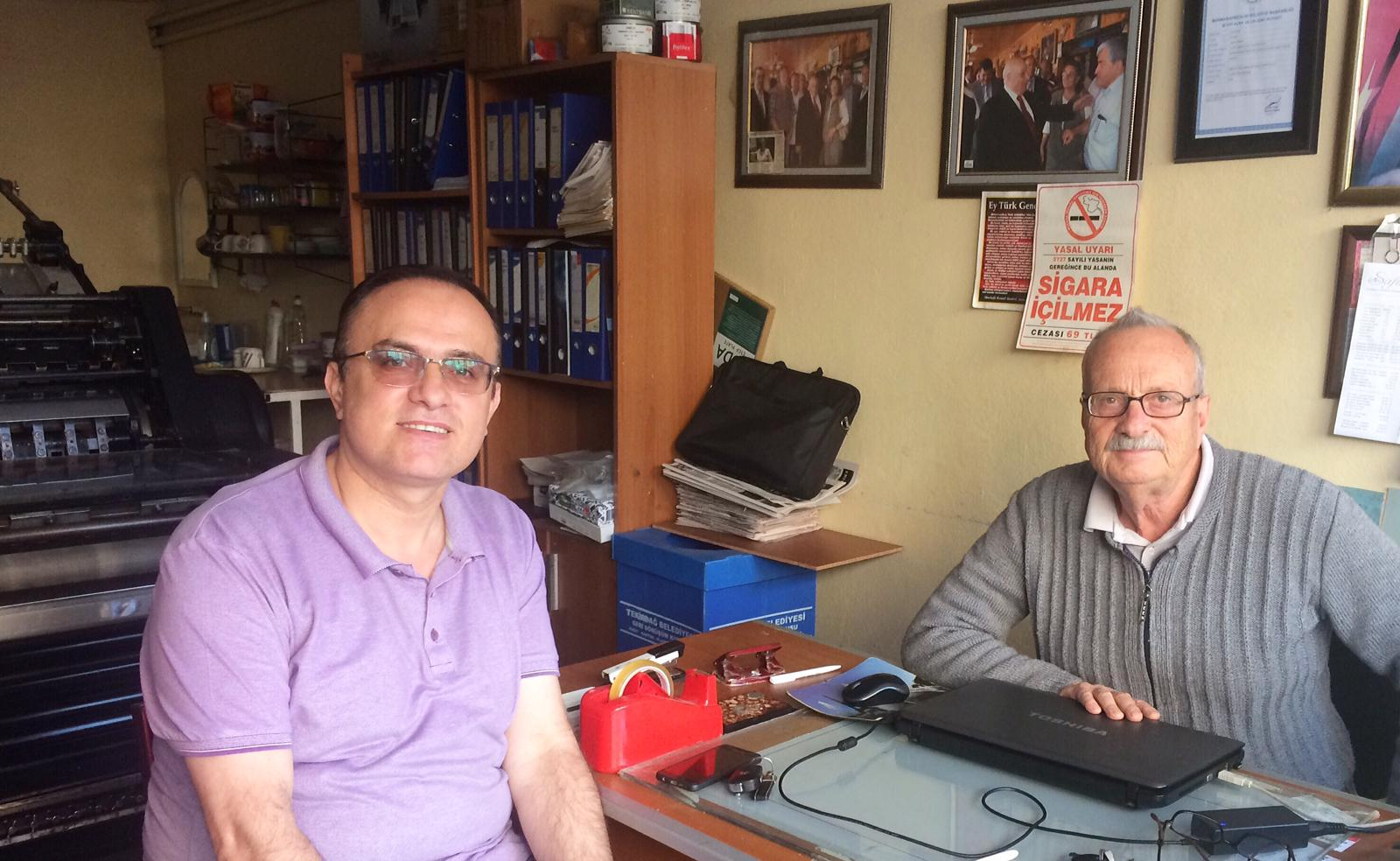 BİK Tekirdağ İl Müdürü Gazetemizi ziyaret etti