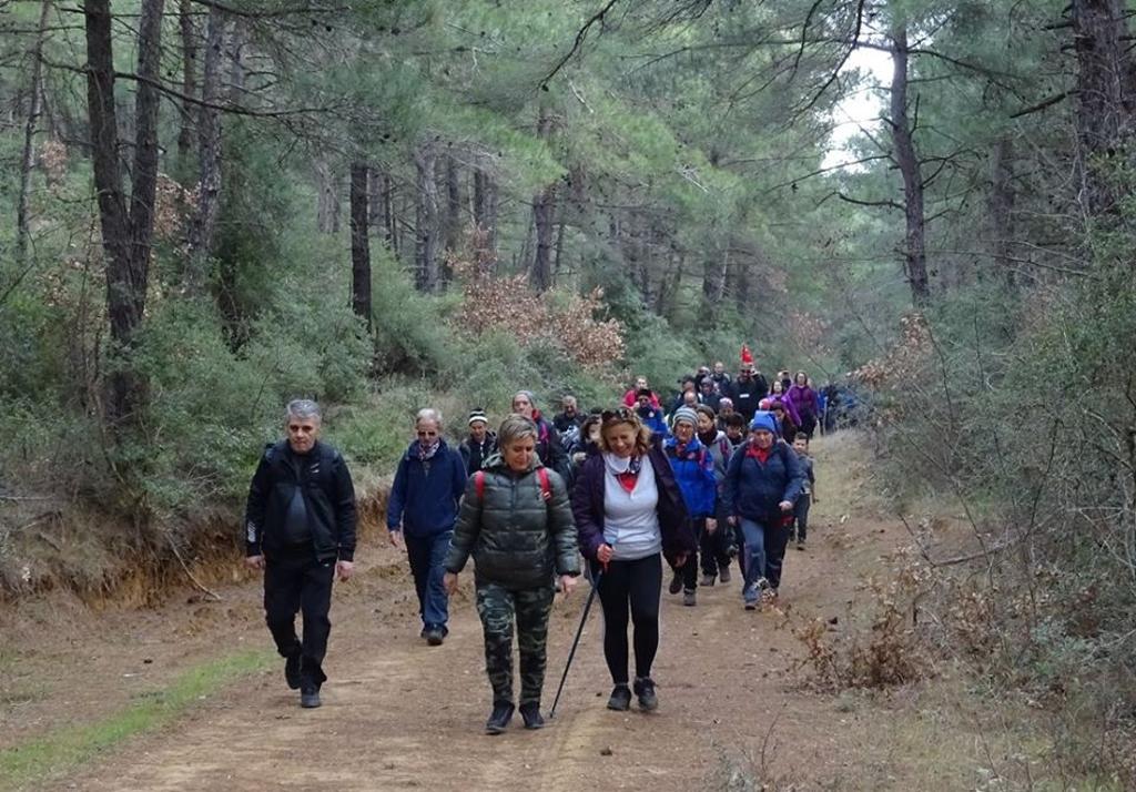DOÇEK Çamlıca-Mercan köyleri arasında yürüdü