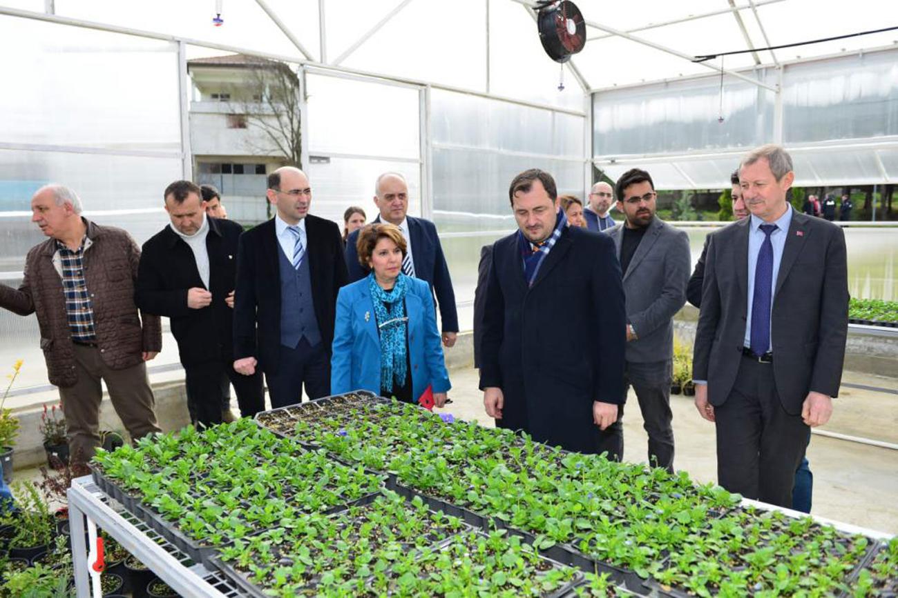 Süleymanpaşa'nın çiçekleri ZiraatBiyotek'te yeşerecek