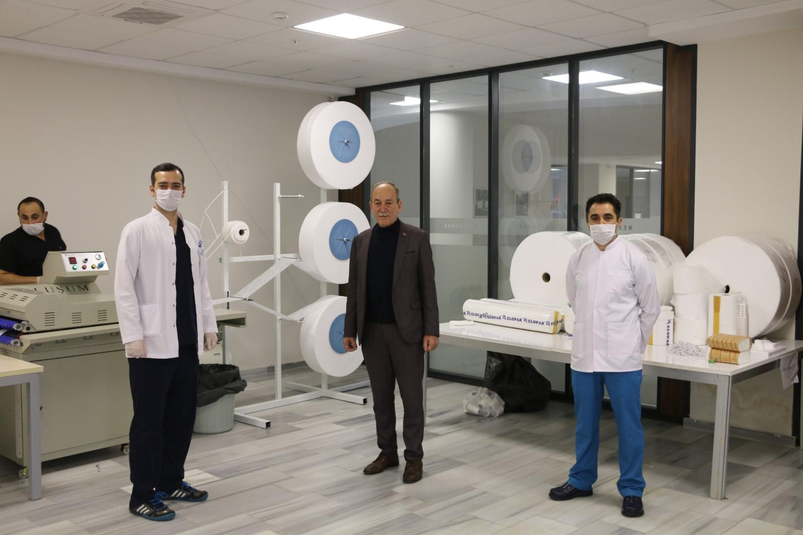 Marmaraereğlisi Belediyesi, Salgına Karşı Maske Üretimine Başladı