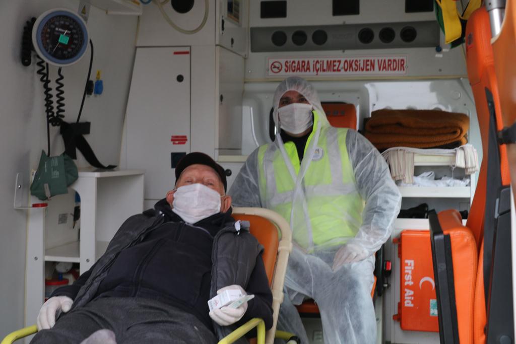 Marmaraereğlisi Belediyesi'nin Hasta Nakil Hizmetleri Devam Ediyor