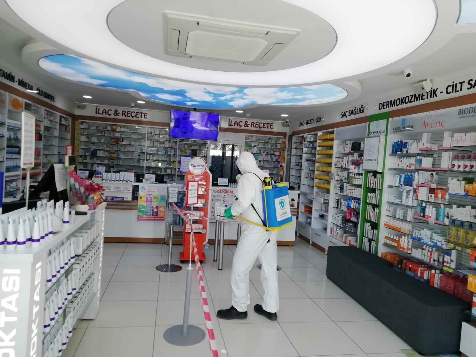 Koronavirüsle Mücadele Kapsamında Dezenfeksiyon İşlemleri Devam Ediyor