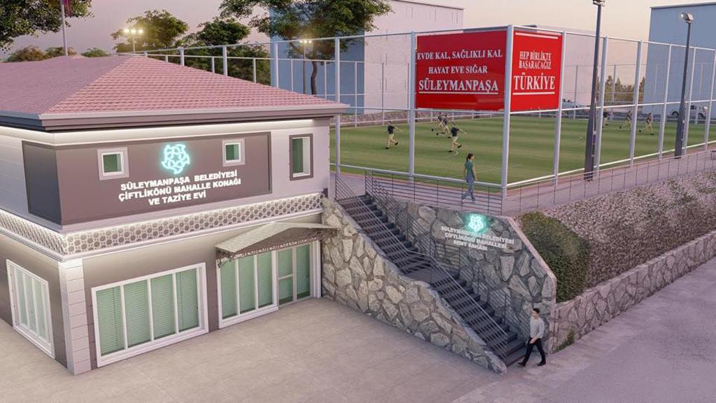 ÇiftlikönüMahallesi Mahalle Konağı ve Spor Merkezi ile yükselecek