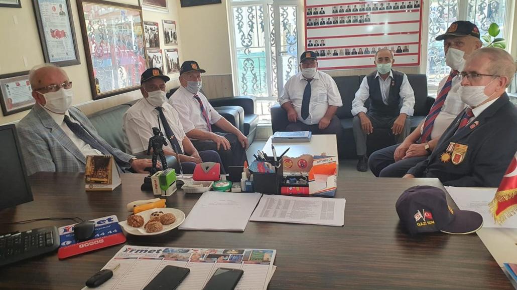 Başkan Albayrak'tan Muharip Gazi Derneklerine Ziyaret
