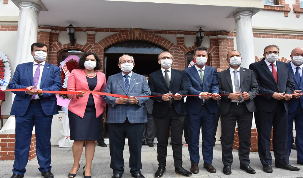 Çorlu Yılmaz Büyükerşen Balmumu Heykeller Müzesi Törenle Açıldı