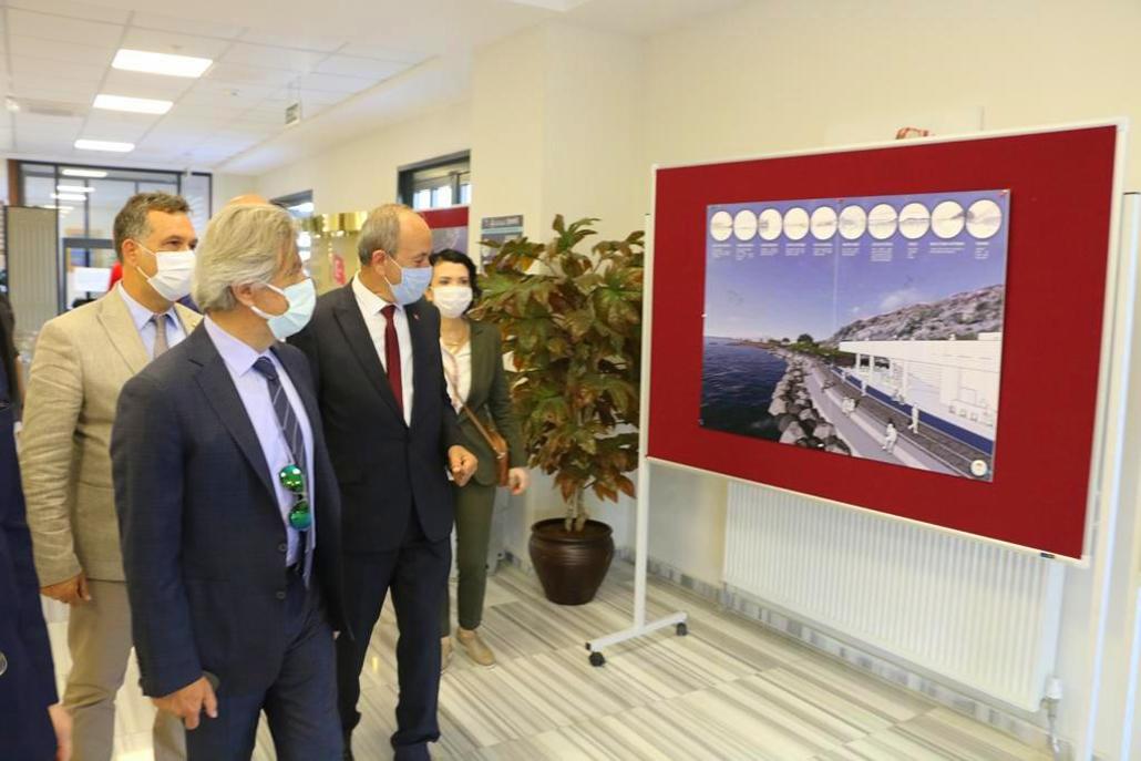 Kültür ve Turizm Bakan Yardımcısı, Marmaraereğlisi Belediye Başkanı Hikmet Ata'yı ziyaret etti.