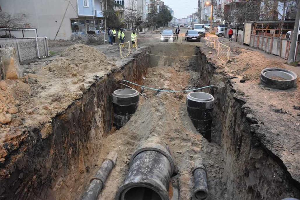 Başkan Albayrak Kapaklı ve Çerkezköy'de Altyapı Çalışmalarını İnceledi
