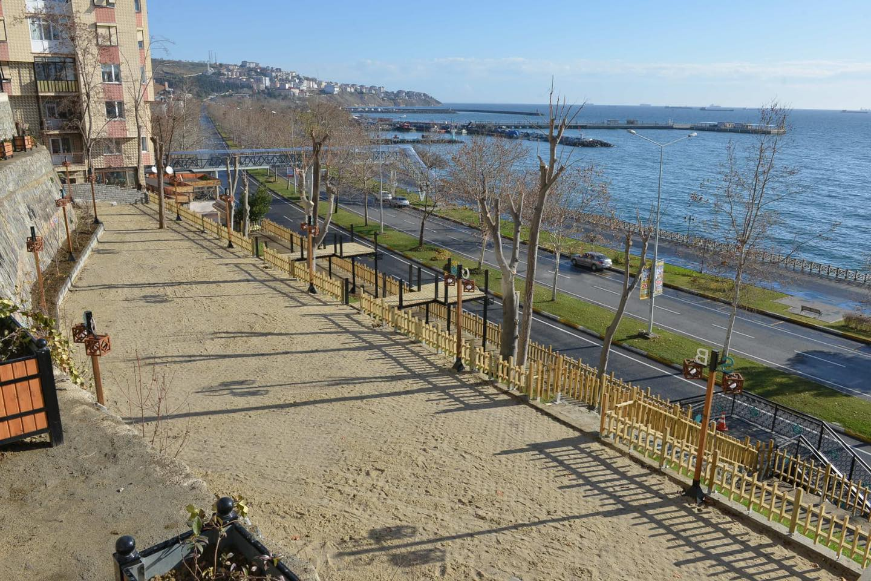 Atatürk Tuna Boyu Seyir Parkı sona doğru