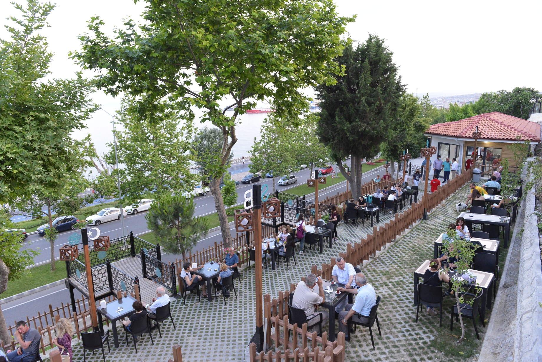 Atatürk Tuna Boyu Seyir Parkı misafirlerini ağırlamaya başladı