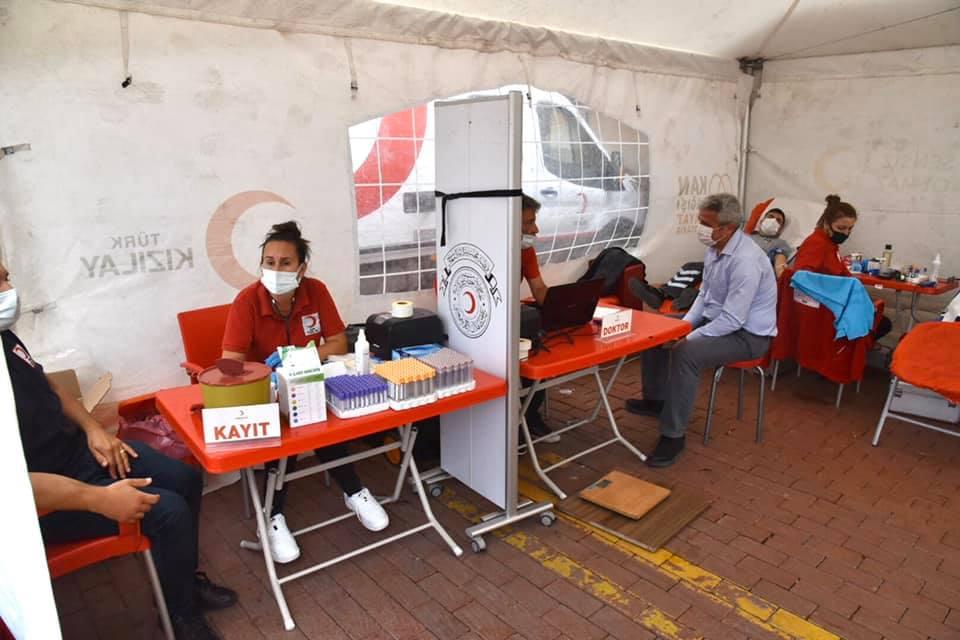 Keşan Belediyesi ile Kızılay işbirliğinde kan bağış kampanyası düzenlendi