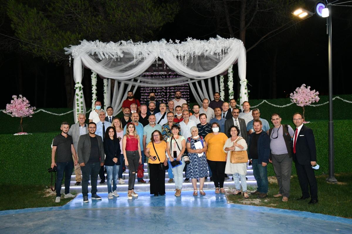 Tekirdağ Namık Kemal Üniversitesi Atatürk Kent Ormanı Basına Tanıtıldı