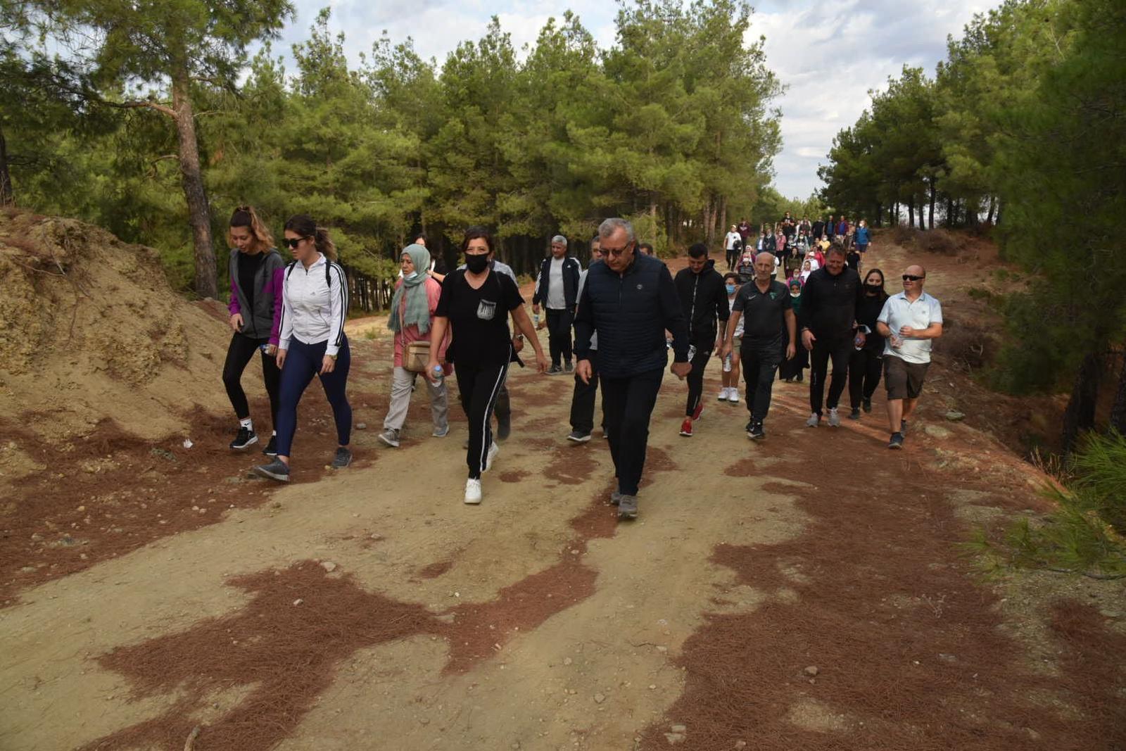 Keşan Belediyesi'nden Dünya Hareketlilik Günü Yürüyüş Etkinliği