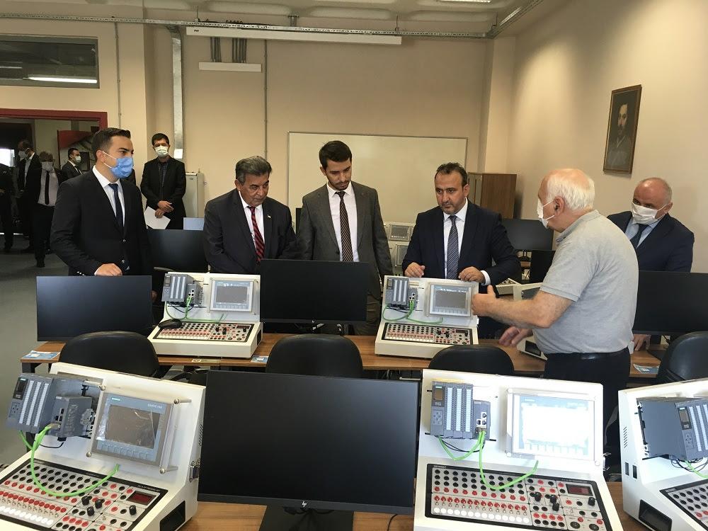 Trakya'nın İlk Sanayide Dijital Dönüşüm (Endüstri 4.0) Laboratuvarı Açıldı