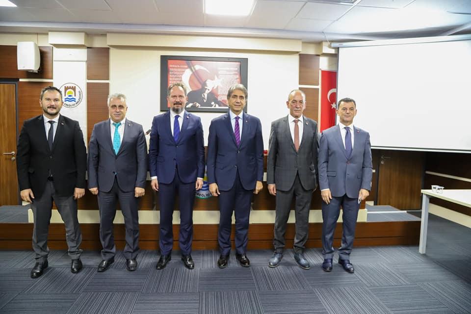 AK Parti Yerel Yönetimler Başkanlığı İstişare Toplantısı Marmaraereğlisi'nde Gerçekleştirildi