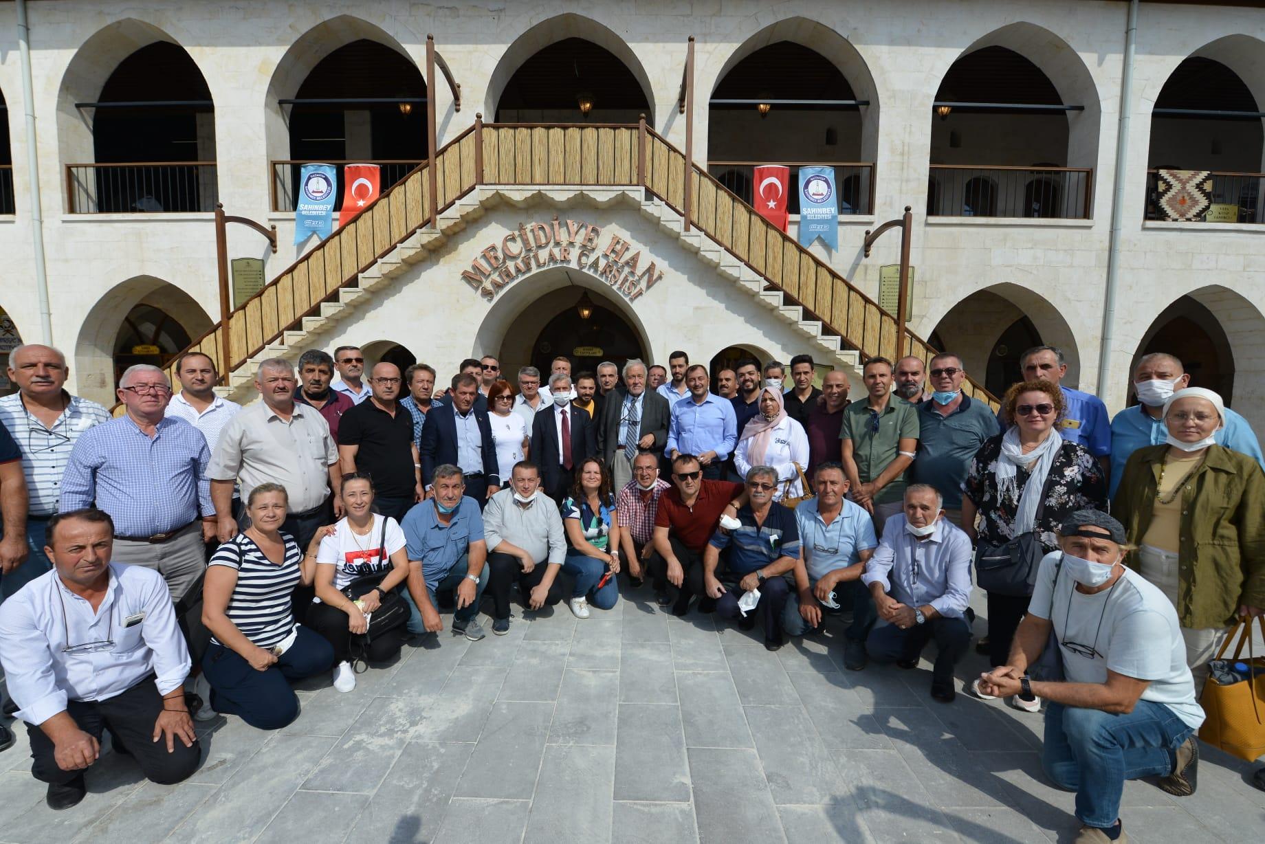 Süleymanpaşalı muhtarlara Gaziantep gezisi